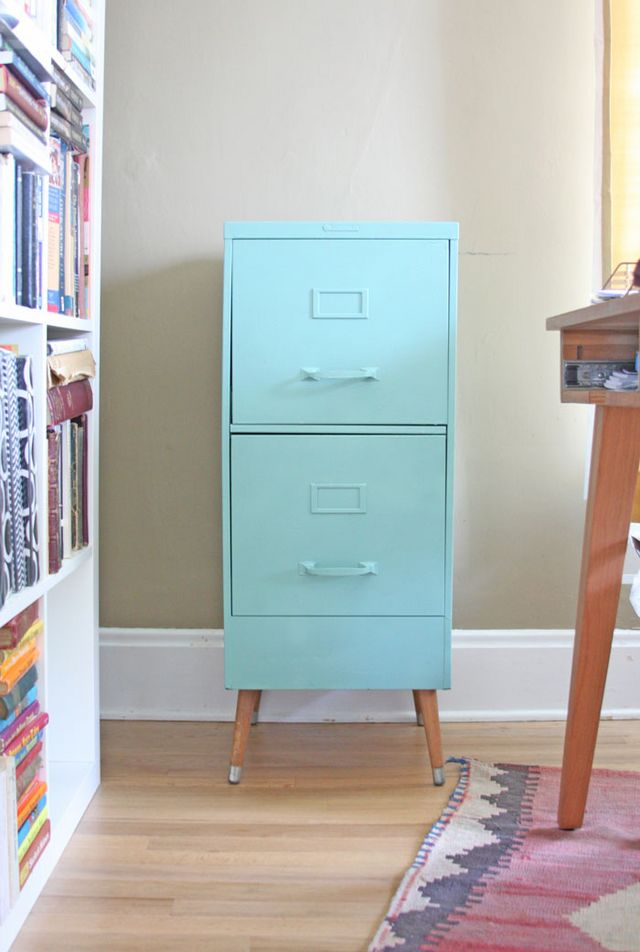 14 Awesome Upcycled And Repurposed Filing Cabinets That
