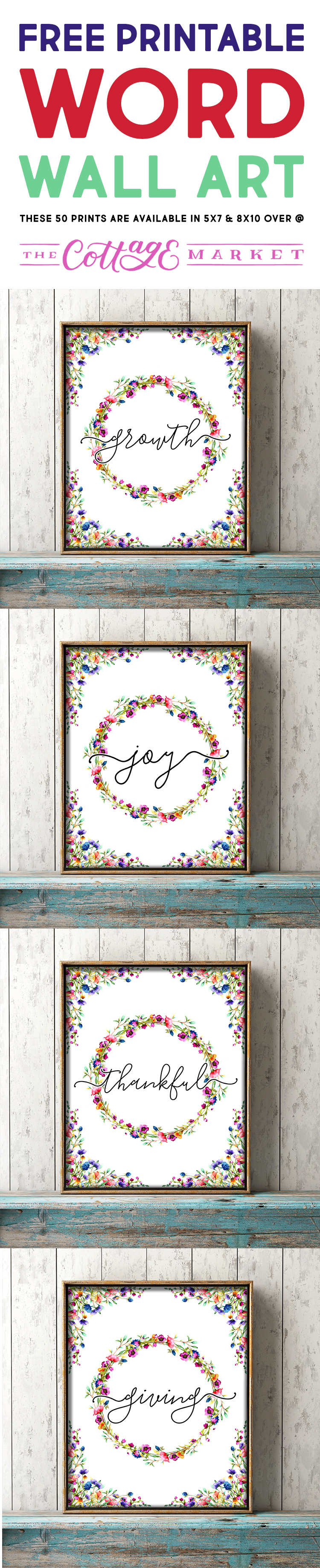 Free Printable Word Wall Art What\u0027s Your Word Of The Year?