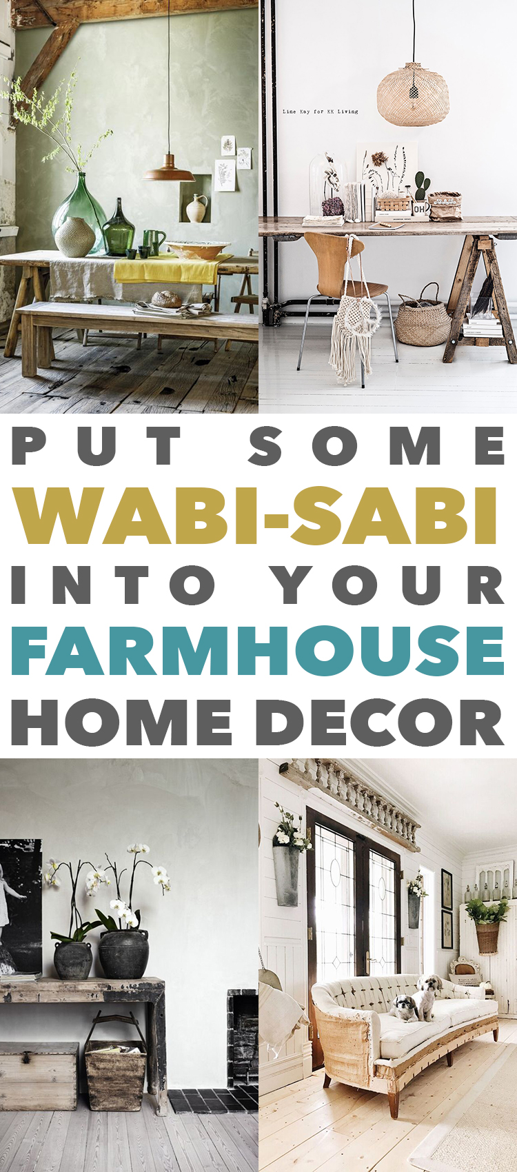 put some wabi sabi into your farmhouse home decor the cottage market. Black Bedroom Furniture Sets. Home Design Ideas
