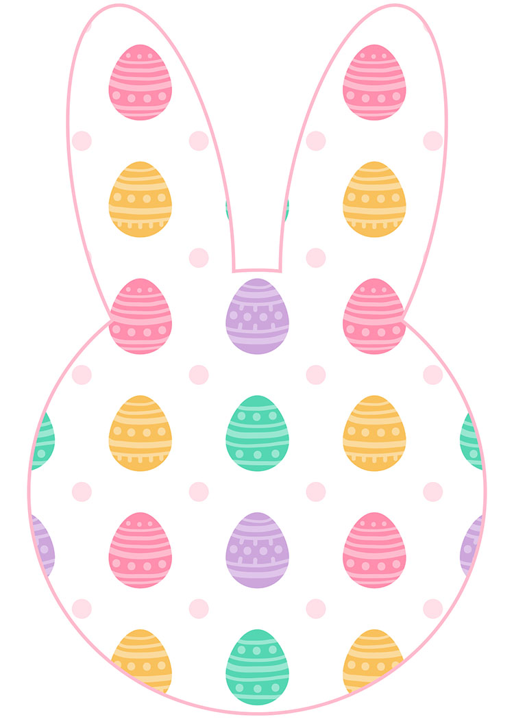Classroom Decorations For Easter ~ Free printable easter bunny banner the cottage market