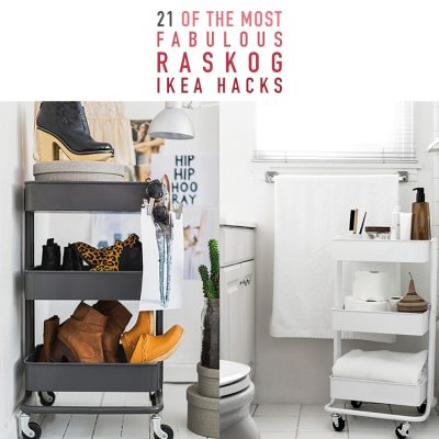 21 Of The Most Fabulous Raskog IKEA Hacks