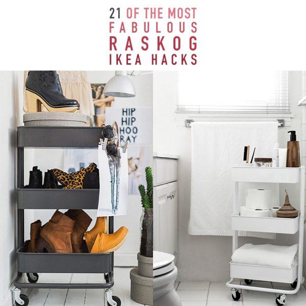 21 Of The Most Fabulous Raskog IKEA Hacks
