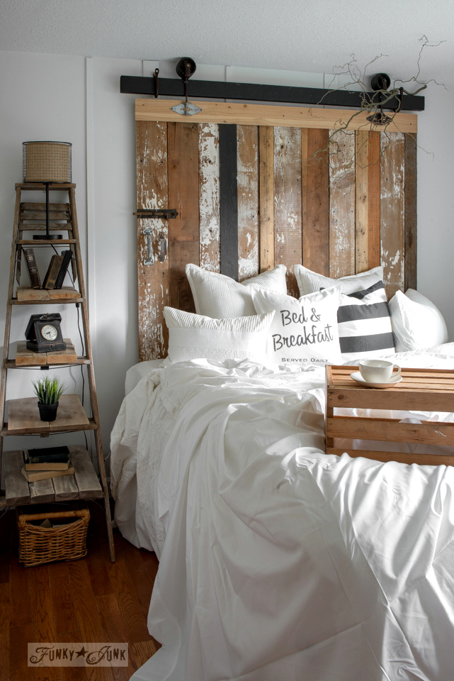 Pallet Bed Head