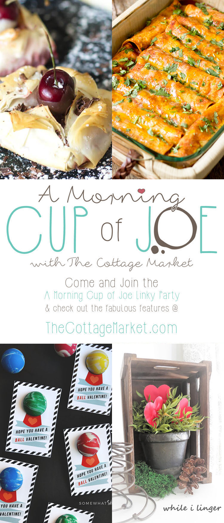 A Morning Cup of Joe a Fun Linky Party and Features