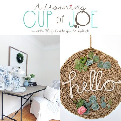 A Morning Cup of Joe /// A Fun Linky Party and Features