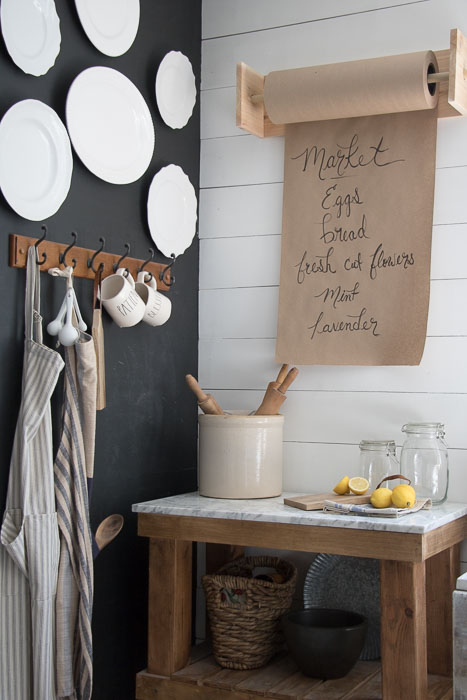 Diy Kitchen Crafts With Farmhouse Style The Cottage Market