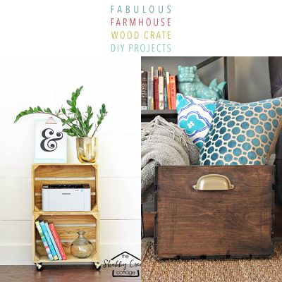 FabulousFarmhouse Wood Crate DIY Projects