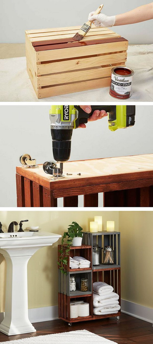 Fabulousfarmhouse Wood Crate Diy Projects The Cottage Market