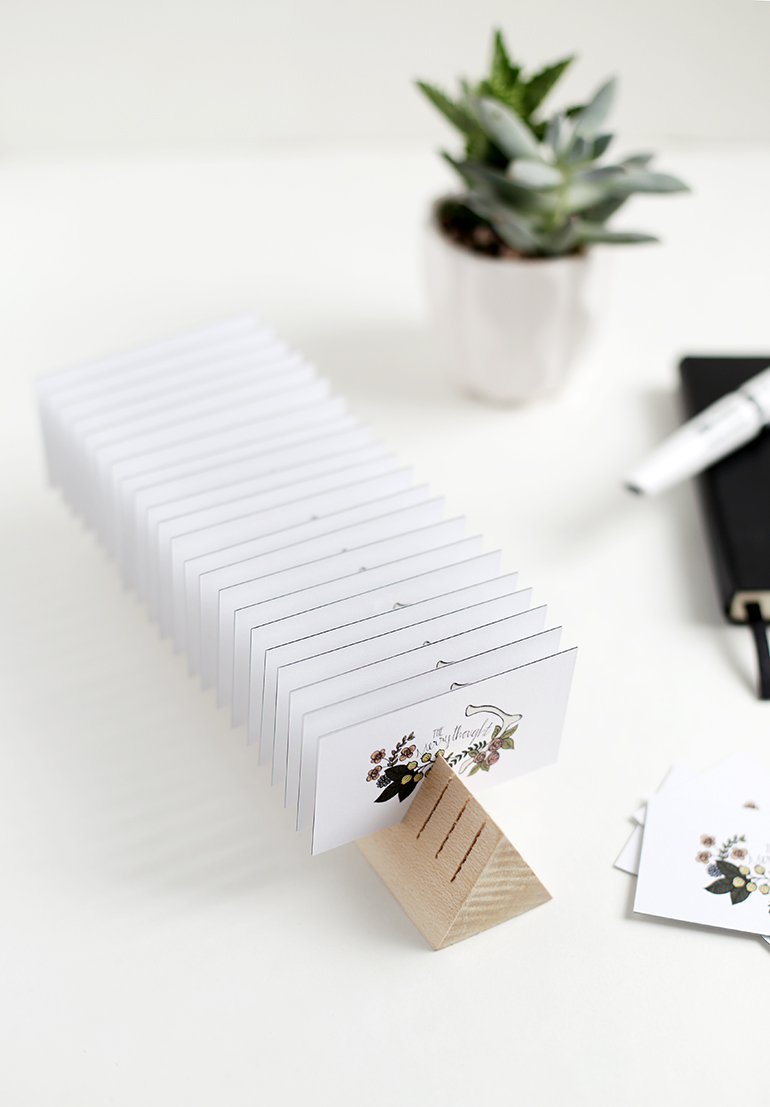 Pretty Up Your Desk With These DIY Desk Accessories - The Cottage Market