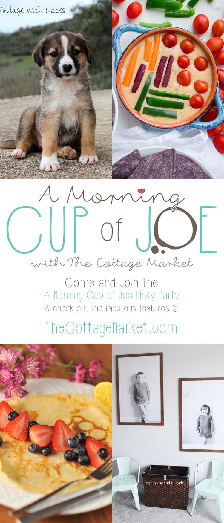 A Morning Cup Of Joe /// A Linky Party and Features