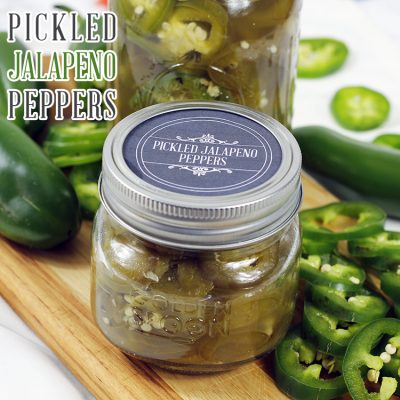 Quick and Easy Pickled Jalapeno Peppers