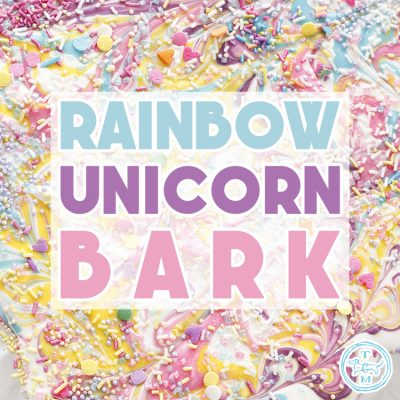 Quick and Easy Rainbow Unicorn Bark