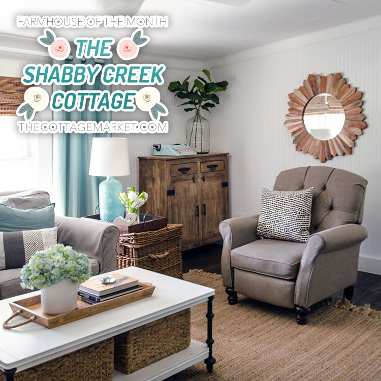 Farmhouse Of The Month Shabby Creek Cottage