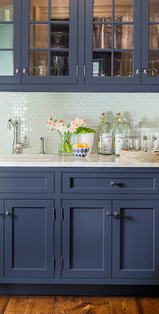Beautiful Blue Farmhouse Kitchens that Will Inspire You! - The ...