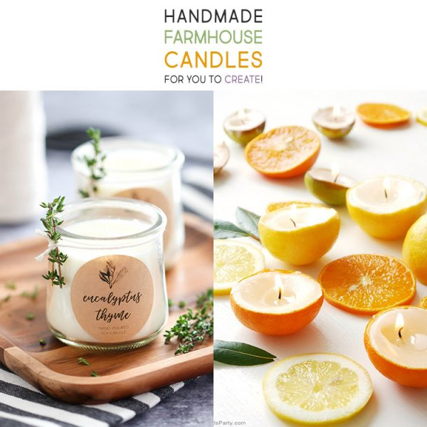 Handmade Farmhouse Candles for you to Create!