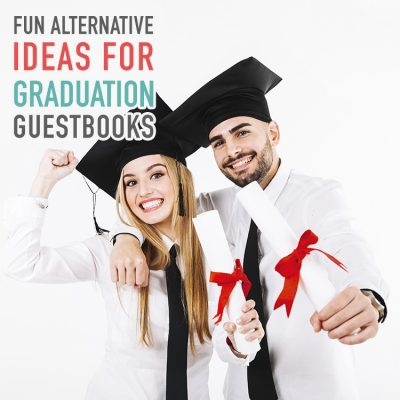 Fun Alternative Ideas for Graduation Guest Books