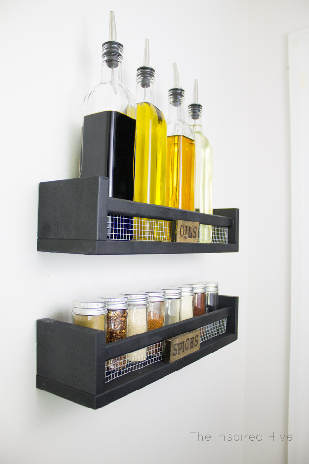 Another IKEA spice rack hack to add some flair to the simple piece