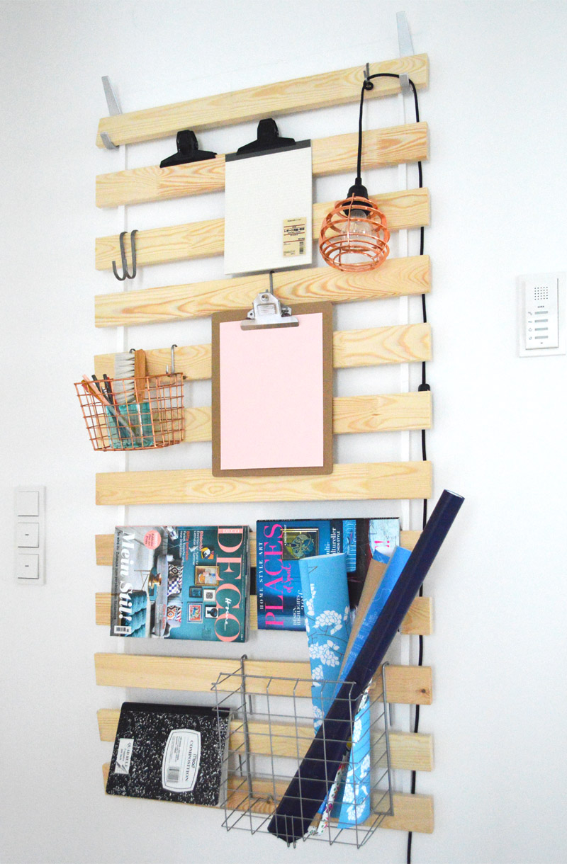 This is a simple farmhouse style IKEA hack that will look great in any room!