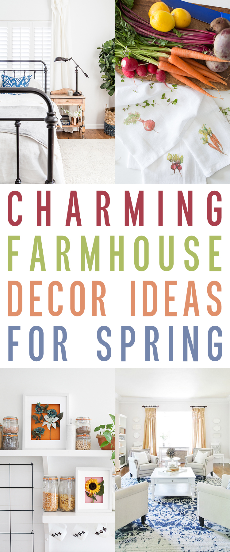 Charming Farmhouse Decor Ideas For Spring