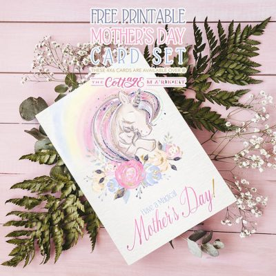 Free Printable Mother's Day Card Set