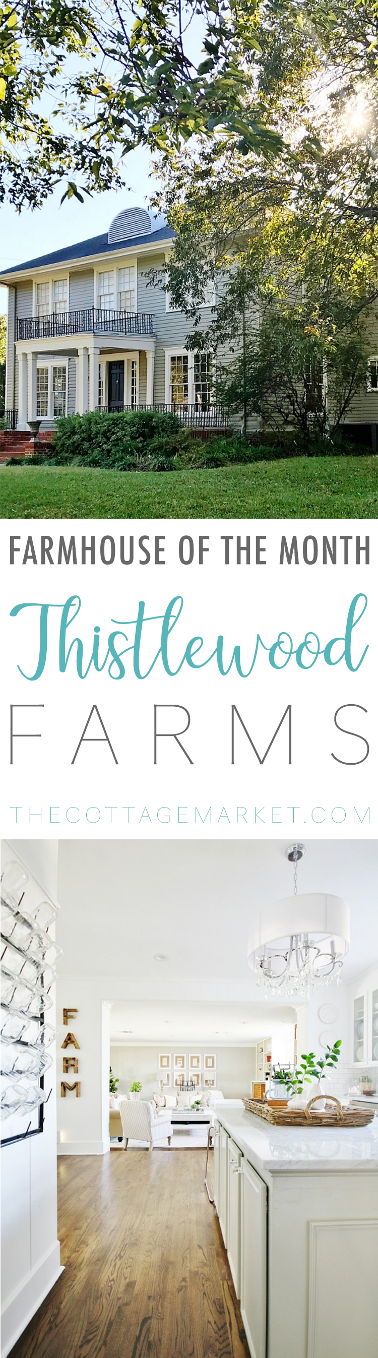 This farmhouse of the month feature is full of decor inspiration.