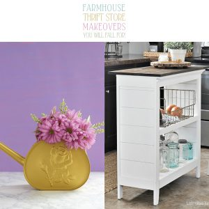 Farmhouse Thrift Store Makeovers You Will Fall For!