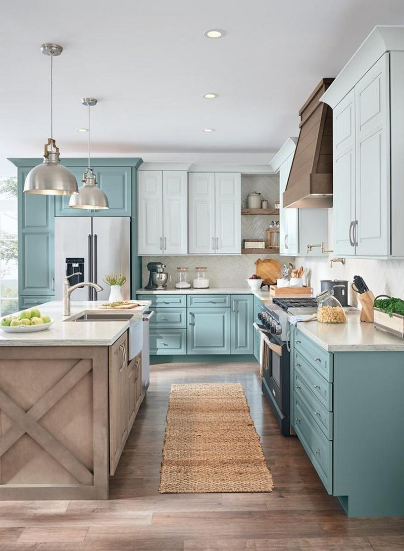 The Ultimate Blue Farmhouse Kitchen Collection - The Cottage ...
