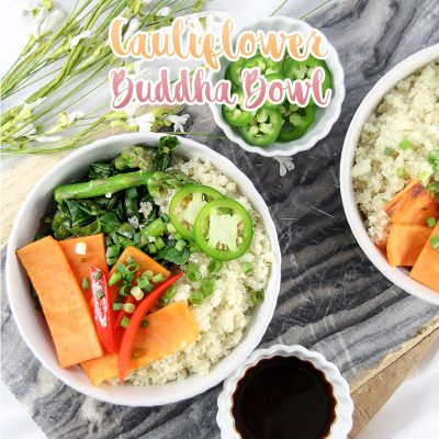 Weight Watchers Cauliflower Buddha Bowl 4 FS points