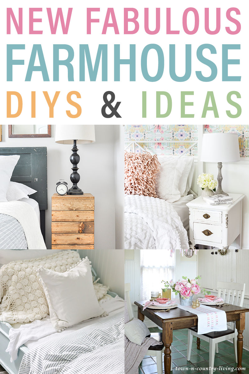 15 Fabulous Farmhouse Style DIY Projects