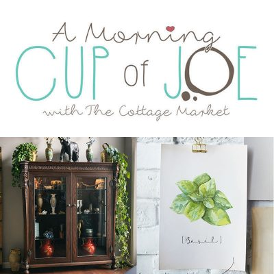 A Morning Cup Of Joe /// A Linky Party and Features!