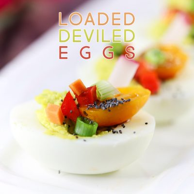 Loaded Deviled Eggs 1 Weight Watchers FS Pt.