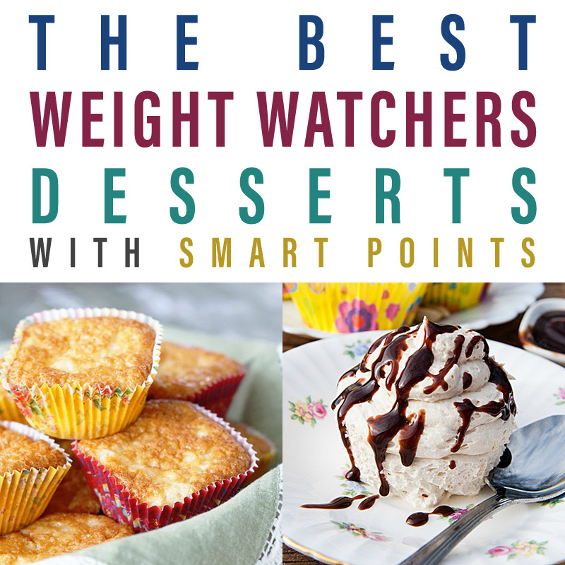 The Best Weight Watchers Dessert Recipes