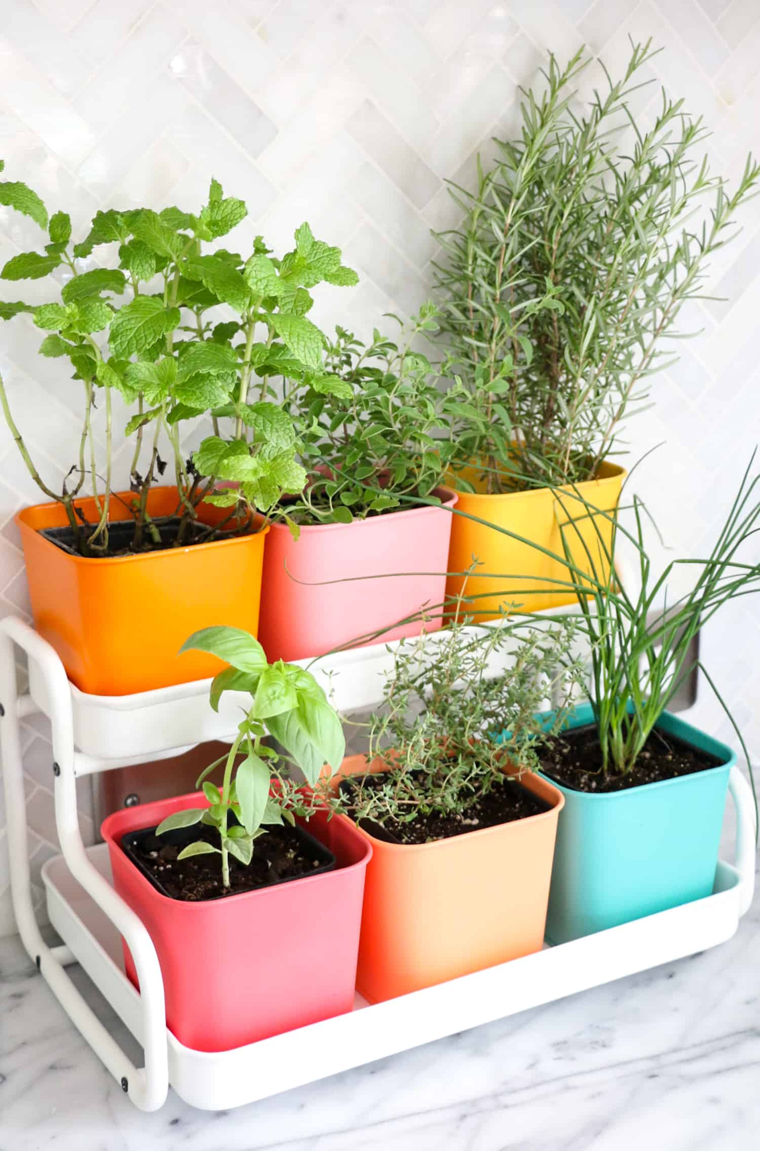 How Awesome Of These Hanging Ice Chest Hacks Made From Ikea Planters Just Drop By Paper Sch And She Will Show You A Little Bit Spray
