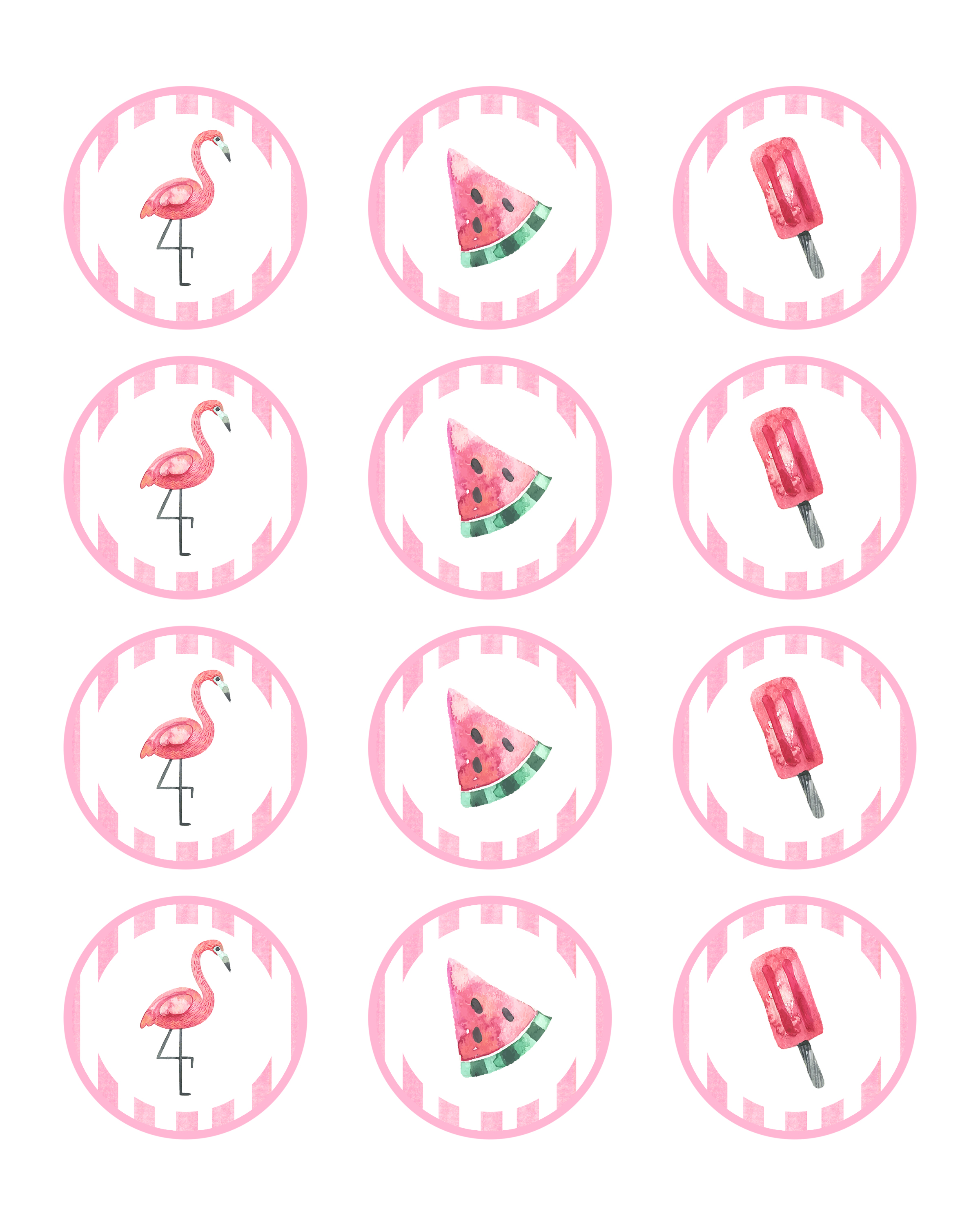 photograph relating to Flamingo Printable known as No cost Printable Flamingo Celebration Pack - The Cottage Marketplace