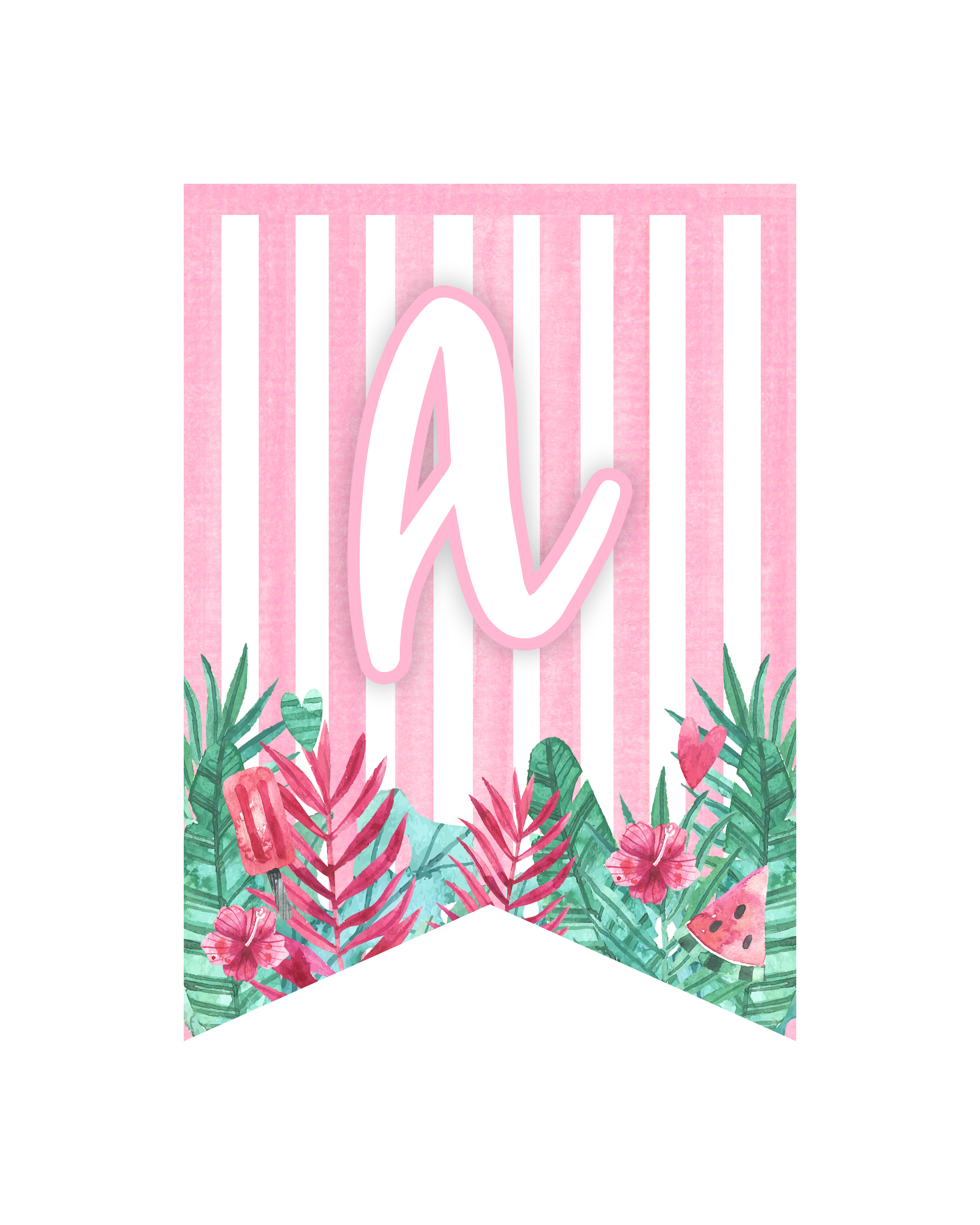 image about Flamingo Printable known as Absolutely free Printable Flamingo Social gathering Pack - The Cottage Marketplace