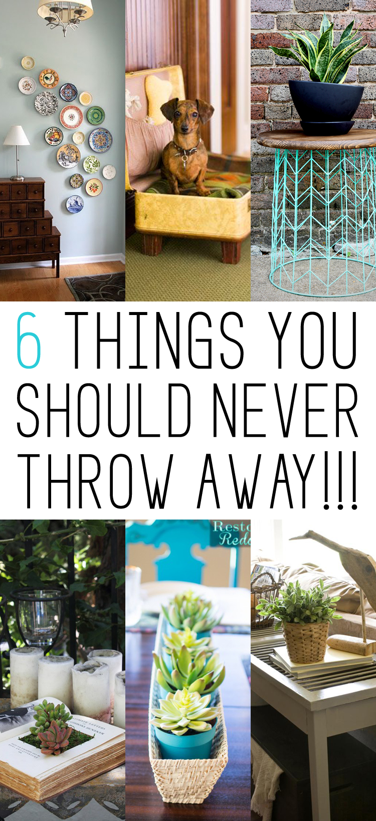 6 Things You Should NEVER THrow Away - Repurpose!