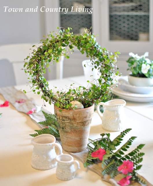 This painted flower pot makes the perfect centerpiece for Easter.