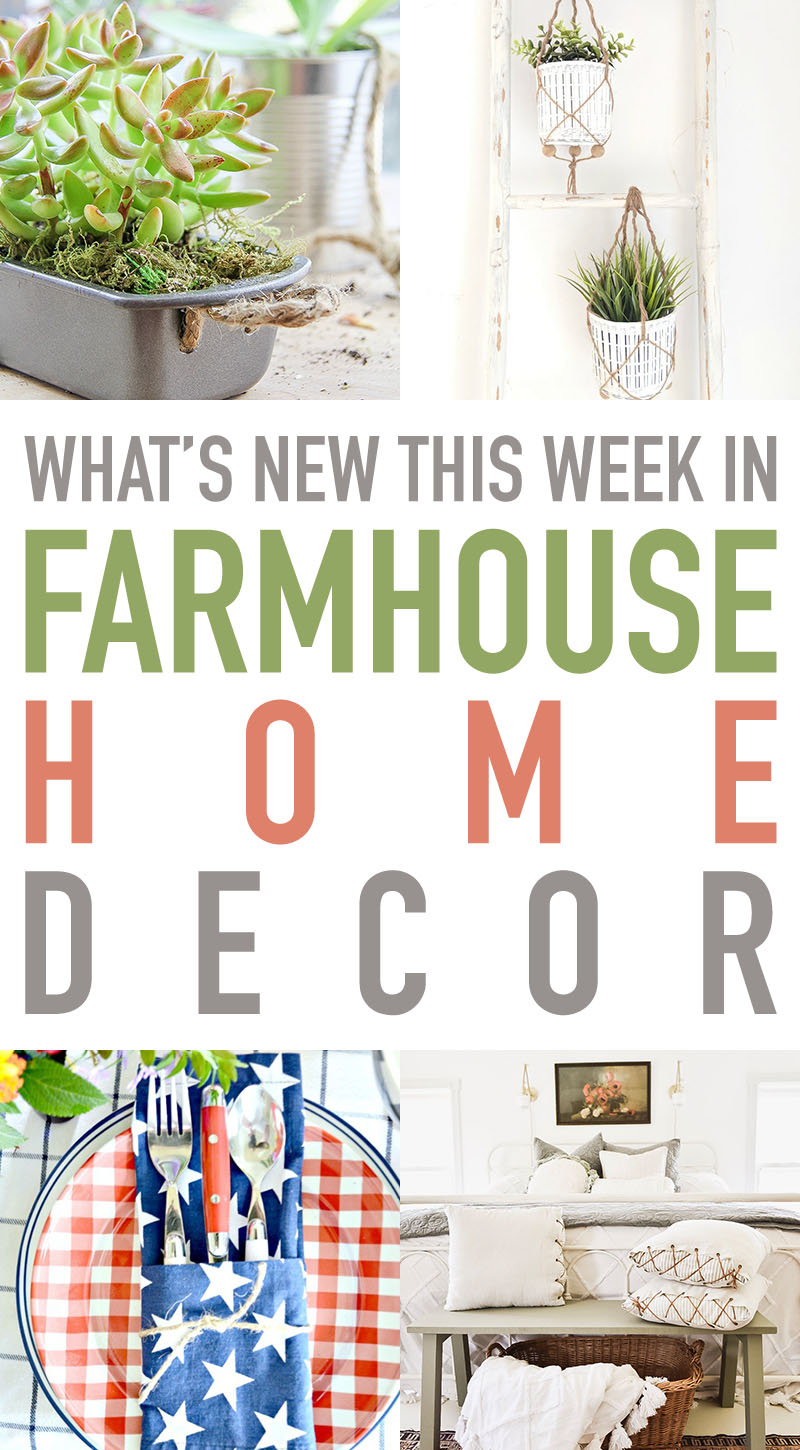 Check out these ideas to see what's new in farmhouse home decor.