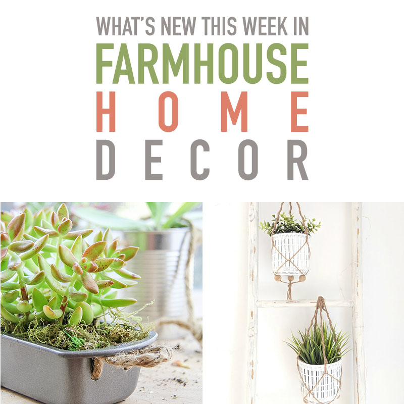 Check out these tips for what's new in farmhouse home decor.