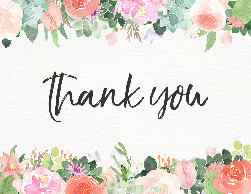 Impeccable image throughout free printable thank you cards