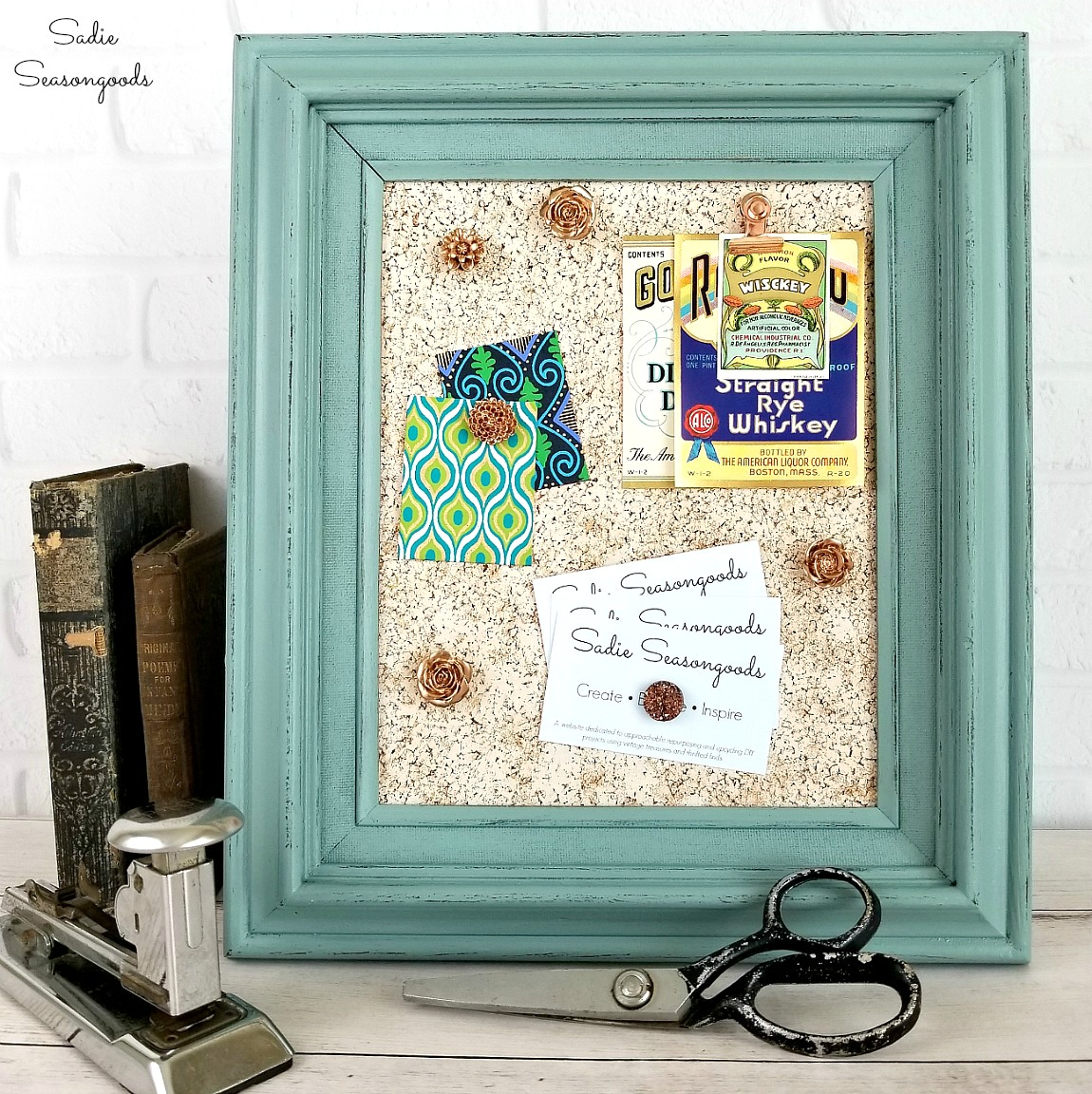 Cute Diy Home Decor: Unique Upcycled Frames With Farmhouse Charm