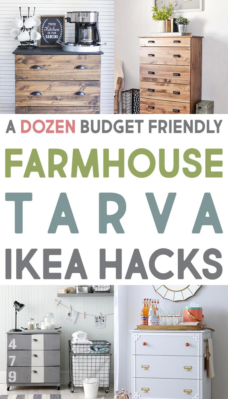 12 Creative Tarva IKEA Dresser Hacks