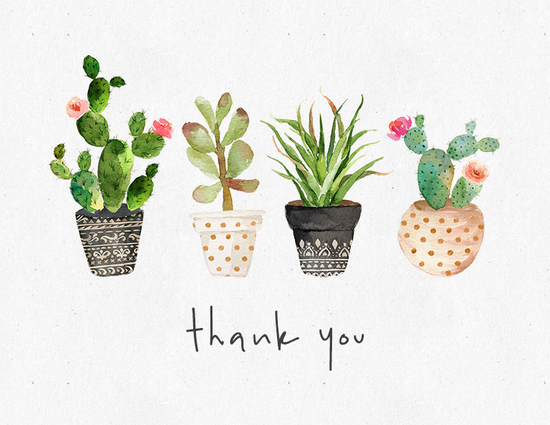10 free printable thank you cards you can u0026 39 t miss