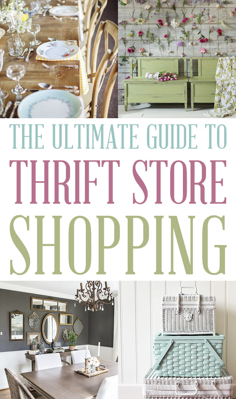 Cottage Market | The Ultimate Guide to Thrift Store Shopping