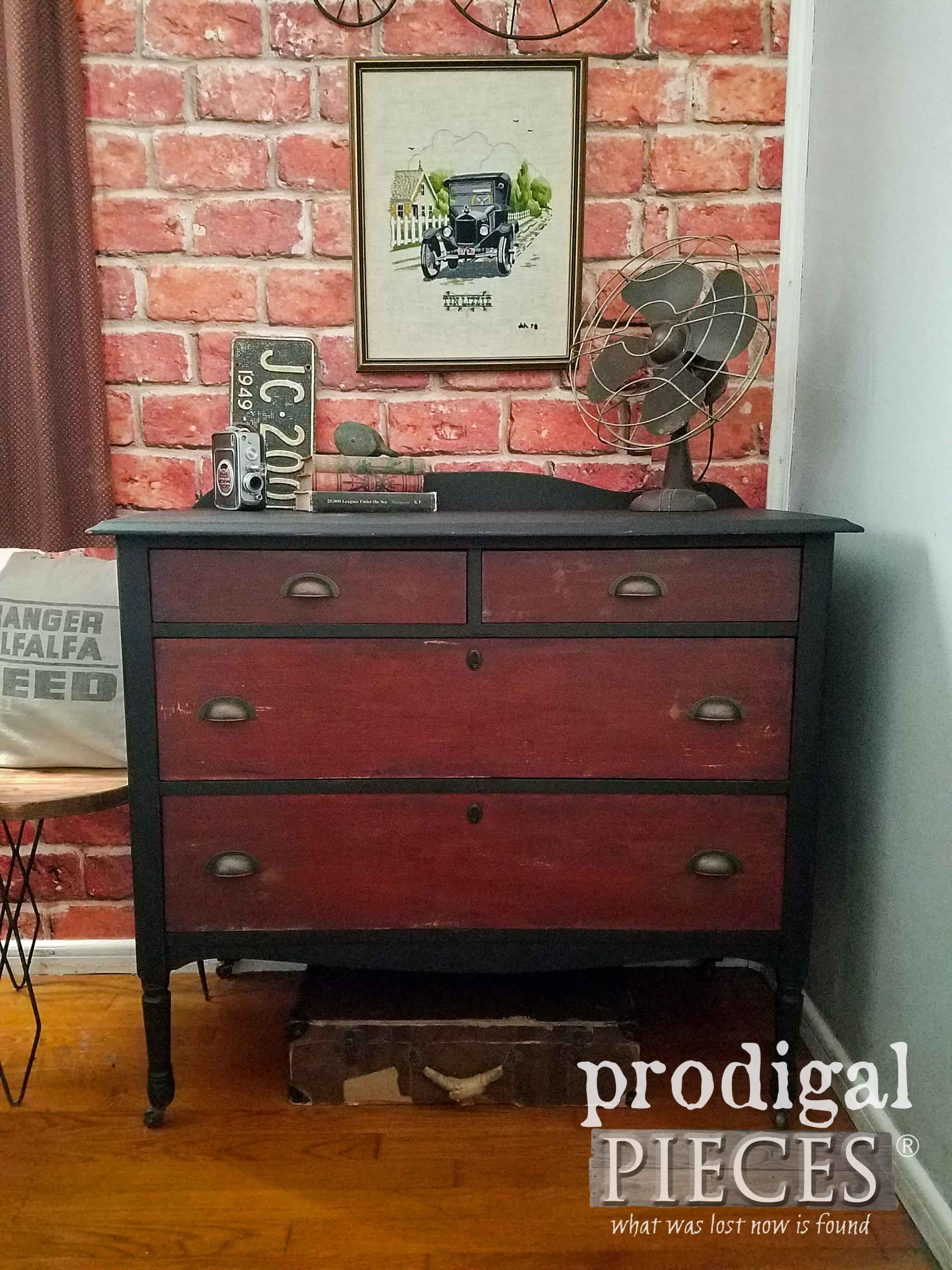 There's no shortage of furniture at thrift stores. You can find great pieces that need a DIY makeover to add something extra to a room in your home