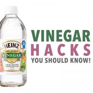 Vinegar Hacks You Should Know