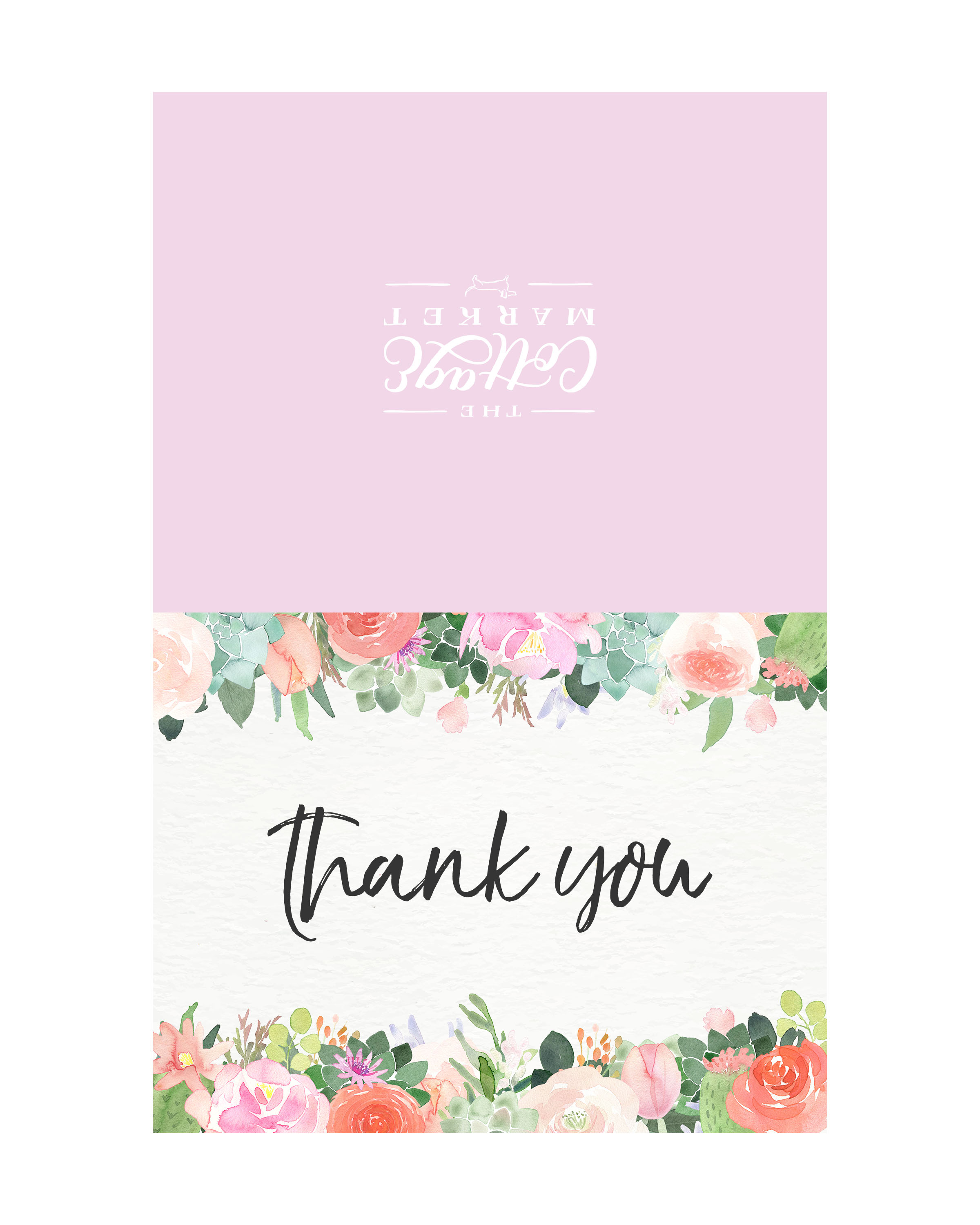 photo regarding Free Printable Thank You identified as 10 Totally free Printable Thank By yourself Playing cards Oneself Cant Miss out on - The