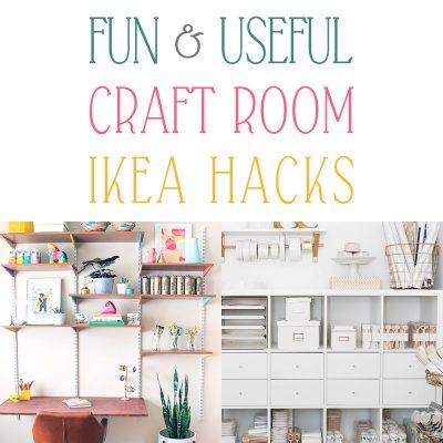 Fun and Useful Craft Room IKEA Hacks