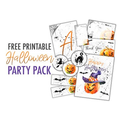 Free Printable Halloween Party Pack
