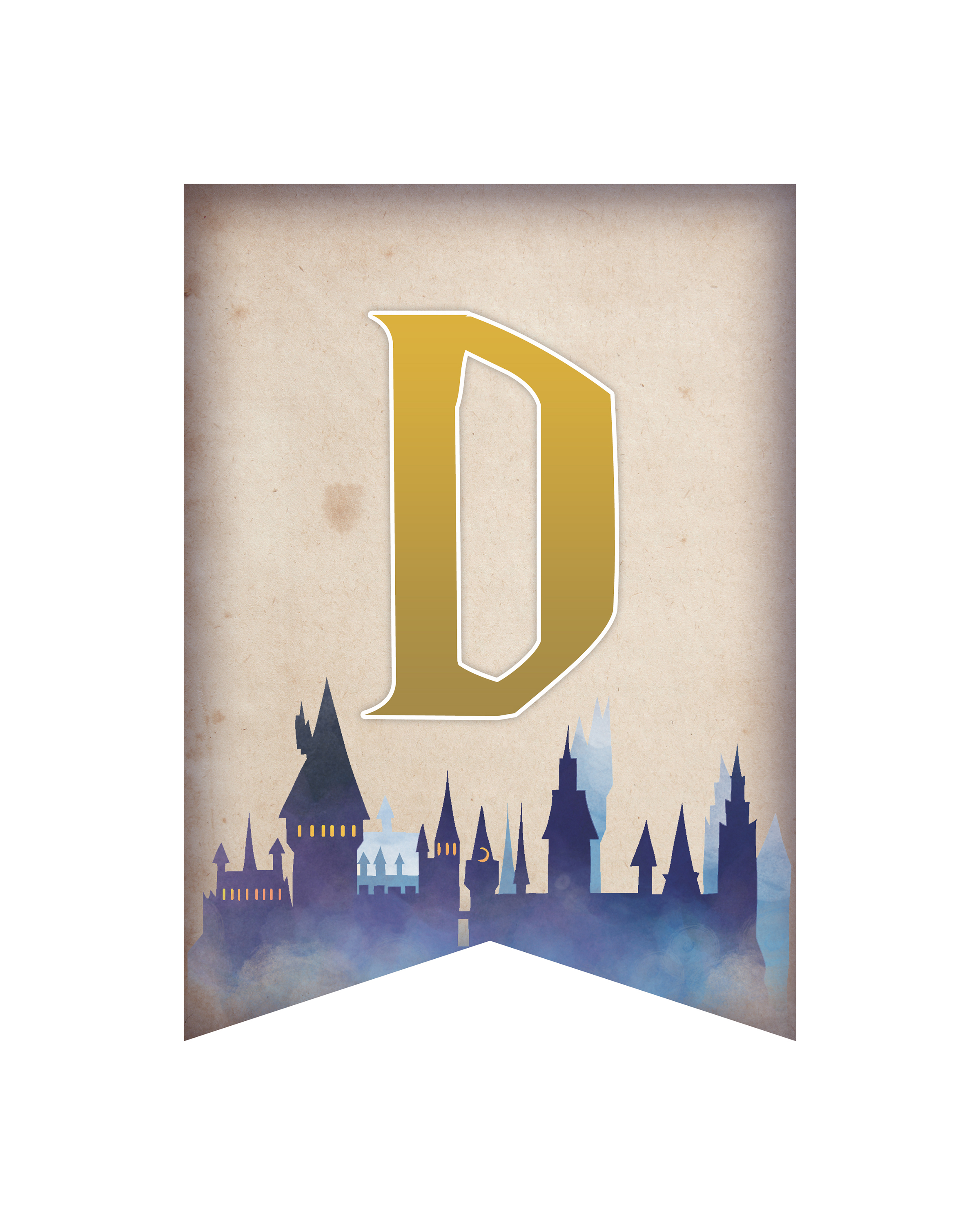 image about Hogwarts Banner Printable identify Free of charge Printable Harry Potter Social gathering Pack For All Instances